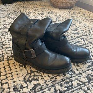 Harley-Davidson Biker Boots Black Leather